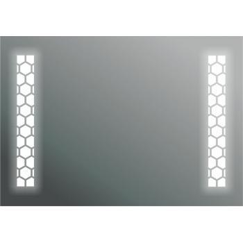 Dibanyo Ledli Ayna On/Off Düğmeli 50x70 cm