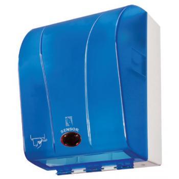 Palex Fotoselli Wc Kağıtlık Şeffaf/Mavi