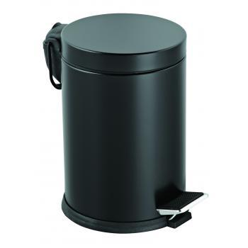 Dibanyo Pedallı Çöp Kovası Siyah 12 Litre