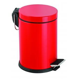 Dibanyo Pedallı Çöp Kovası Kırmızı 12 Litre