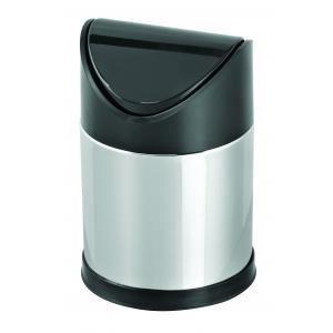 Dibanyo Sallanır Plastik Kapak Çöp Kovası 12 Litre