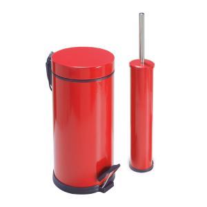 Dibanyo Banyo Seti 2'li 5 litre Kırmızı