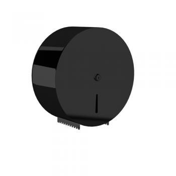 Dibanyo Jumbo Wc Kağıtlık Verici Siyah Ø:27,5 cm