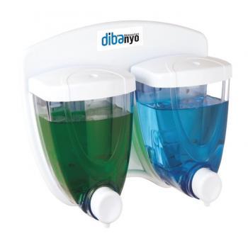 Lüx Beyaz İkili Sıvı Sabunluk 350x350 ml