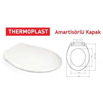 Dibanyo Thermoplast Soft Close Samart Klozet Kapağı