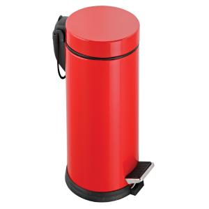 Dibanyo Pedallı Çöp Kovası 5 Litre Kırmızı