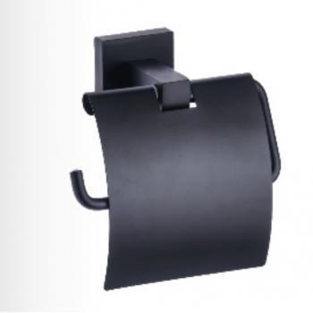 Dibanyo Kare Siyah Geniş Kapaklı Kağıtlık