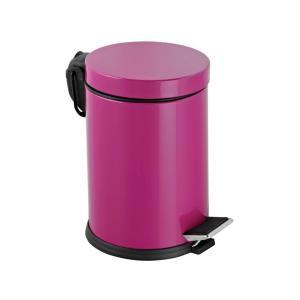 Dibanyo Pedallı Çöp Kovası Fuşya 12 Litre
